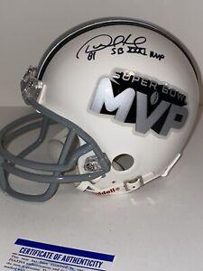 Desmond Howard SIGNED SB MVP Mini Helmet MVP PSA/DNA AUTOGRAPHED