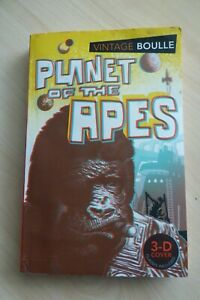 Planet of the Apes 3-D cover Pierre Boulle P/b 1st/1st Vintage 2011