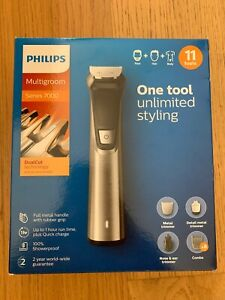 Philips Multigroom 7000 Cordless Hair, Beard, Body Trimmer/ Clippers BNIB 7735