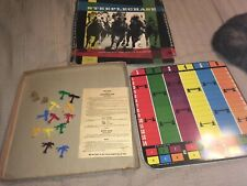 1950's Era Steeplechase Horse Auto Racing 2 Games 6 horses and 6 cars Complete!