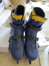 Unisex Blue Ice Skates Size 8
