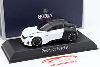Peugeot Concept Car Coupe IAA Frankfurt 2015 weiß / schwarz 1:43 Norev