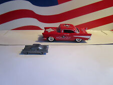 JOHNNY LIGHTNING MONOPOLY CARS ILLINOIS AVE. 1957 '57 CHEVY WITH TOKEN LOOSE