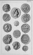 20 Historical Roman Coin and Medallion Reference  Books - B327