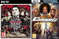 sleeping dogs definivitie edition & crookz big heist limited edtion   new&sealed
