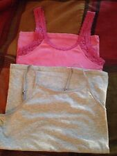 JUNIORS TOPS LOT OF 2 TANK TOPS ABERCROMBIE , OLD NAVY SIZE M & XL