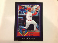 Albert Pujols #200 Cardinals Rc 2003 Style 2016 Topps Anthology 5X7 #ed/499 made