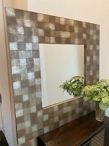 Pier One brown Mosaic Mirror