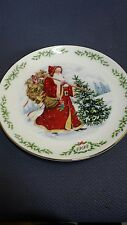 Lenox International Victorian Santa Claus Plate Collection~1992~Kris Kringle