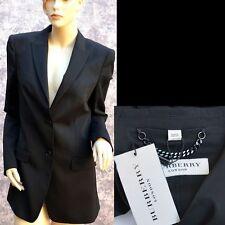 BURBERRY LONDON New sz 42 - 8 Authentic Womens Designer Black Jacket Blazer