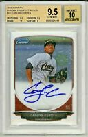CARLOS CORREA 2013 Bowman Chrome Rookie Card RC Auto Autograph BGS 9.5 Gem Mint