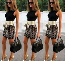 Bodycon Casual Dresses for Women with Belt