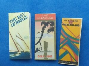 1:12 Scale, TRAVEL BROCHURE/LUGAGE TAGS & LUGAGE LABELS, Crafted by ken Blythe