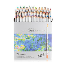 Pro 72 Color Marco Fine Art Drawing Non-toxic Oil Base Pencils Set Artist Sketch