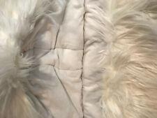 Pottery Barn Teen Himalayan Ivory Furrific Hooded Sleeping Bag NEW