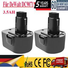 1-2X 12V 3500mAh Akku High Quality Für DeWalt DC9071 DE9037 DE9072 DE9074 Tools