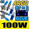 H1 H7 T10 100W XENON HID SUPER BLUE UPGRADE SET HEAD LIGHT BULBS - VAUXHALL