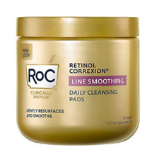 RoC Retinol Correxion Line Smoothing Daily Cleansing Pads 28 Count