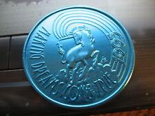 unicorn blue rare 1995 Mardi Gras Doubloon Coin new orleans nola