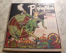 1933 LE AVVENTURE DE PINOCCHIO DISQUE DURIUM DESSIN RIGAGLIARE N°15 ET N°16