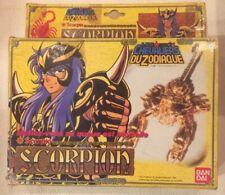 Saint Seiya / Chevalier Du Zodiaque Série Or Scorpion / Scorpio Bandai 1987
