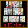 Venezuela 2-100000 Bolivares & Soberanos (21 Pcs Full Set) x 100 Lot 07-2018 Unc
