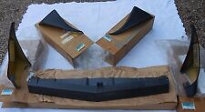NOS 79 80 81 Firebird Trans Am rare ORIGINAL GM wheel spoiler GROUND EFFECT SET