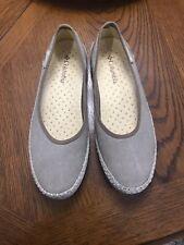 Columbia Tan Espadrille Flat Comfort Shoe Womens Sz 11