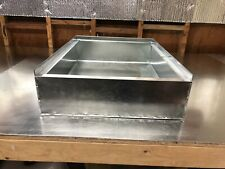 21 x 28 x 10 tall furnace stand return air box duct hvac