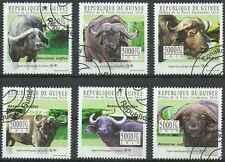 Timbres Animaux Guinée 5140/5 o année 2010 lot 21442 - cote : 15 €