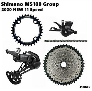 SHIMANO Deore Group M5100 11s groupset 11 Speed Big Cassette KIT For HG cassette