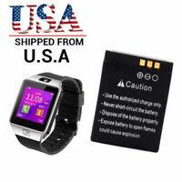 380mAh 3.7V Smart Watch Li-Polymer BATTERY ONLY for DZ09, V8, QW09, W8, A1, X8
