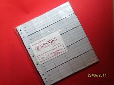 New Style -Renniks 20 pocket Coin Album Pages (CR20) Pack 10 plus Free sample