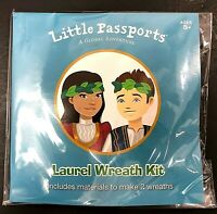Little Passports A Global Adventure GREECE Laurel Wreath Kit Makes 2 NEW SEALED