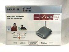 Belkin Wireless G Router Model F5D7230-4, New - Unopened
