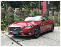 1/18 Infiniti Q60 Q60S Coupe 2018 Diecast Model Car Toys Boys Girls Gifts Red