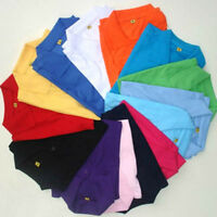 Men's Short Sleeve Golf Polo T-Shirt Tops Multi-Color Size M L XL 2XL 3XL Casual