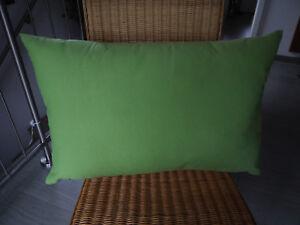 Sofakissen Mikrofaser grün: Rückenpolster, feste Füllung, 50 x 70 cm