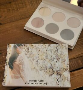 KKW BEAUTY Mrs. West Eye Shadow Palette New Boxed 6 Shades Mirrored Compact