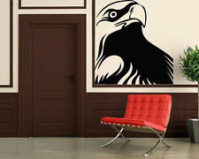Wall Stickers Vinyl Decal Bird Nature Hawk Eagle Tribal ig126