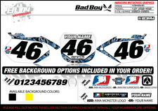BADBOY Motocross Number Plate Graphic 06-09YZF 250-450 NUMBERS by ENJOY MFG