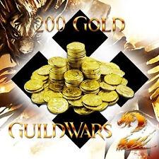 200 Guild Wars 2 Gold - GW 2 Gold für einen EU Server - schnell & sicher