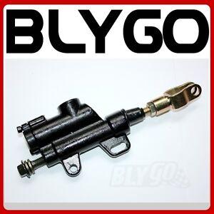 8mm Banjo Bolt Rear Hydraulic Brake Master Cylinder 200 250cc PIT Dirt Bike ATV