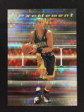 "REGGIE MILLER INSERT SPX 1999 ""SPXCITEMENT"" INDIANA PACERS BASKETBALL CARD"