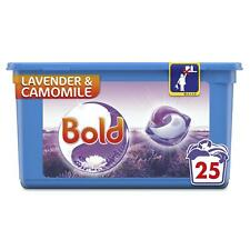 Bold All in 1 Pods Washing Liquid, Lavender & Camomile Capsules, 25 Fresh Washes