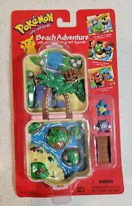 1999 Sealed Pokemon Adventure Playsets Beach Adventure