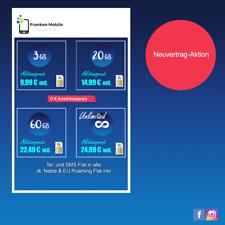 Handyvertrag SIM-ONLY Hammeraktion!!! Vertrag mit 24 Mon. Laufzeit