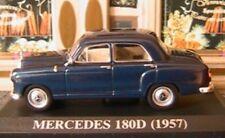 MERCEDES BENZ 180D PONTON 1957 W120 BLEU IXO 1/43 DEUTSCHLAND ALTAYA BLAU BLUE