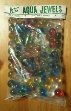 VTG Vitro-Agate Aqua Jewels 90 Ct Marble Bag - Unopened - Parkersburg, WV