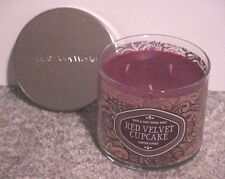 BATH & BODY WORKS 3 WICK 14.5 OZ CANDLE CHRISTMAS ~RED VELVET CUPCAKE~